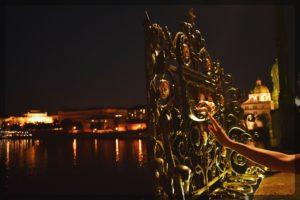 Charles Bridge and nearby, Prague