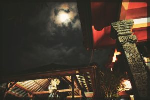 Full Moon Night in Ubud, Bali