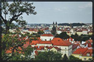 Lookout Tower, Petrin Hill, Prague