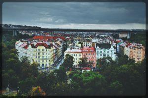 City View From Vysherad Hill, Prague