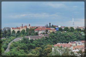 Wall From Vysherad Hill, Prague