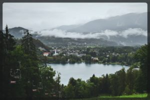 Views From Straza, Bled, Slovenia