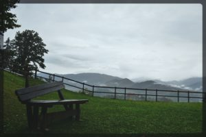 Views from Straza in Bled, Slovenia