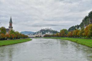 Walking tour in Salzburg, Austria