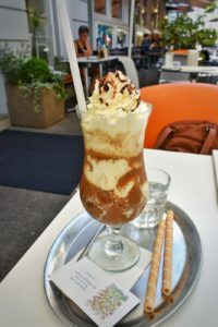 Coffee in Heart of Joy, Salzburg, Austria