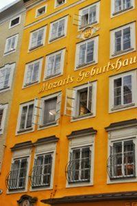 Mozart Birthplace, Salzburg, Austria
