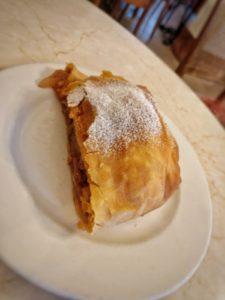 Apple Pie in Salzburg, Austria