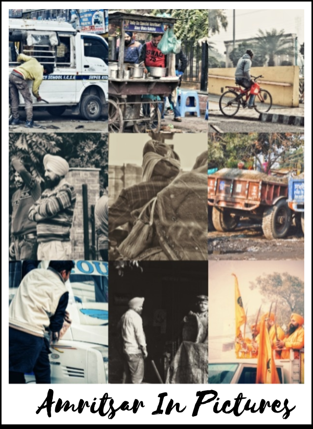 Amritsar In Pictures - life in a city