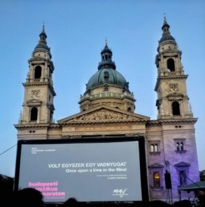 Open Air Screening in Budapest, Hungary