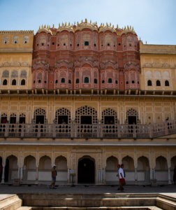 Hawa Mahal back side in Jaipur during day