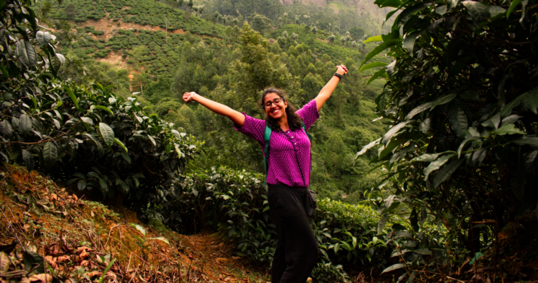 Penning Silly Thoughts in Munnar