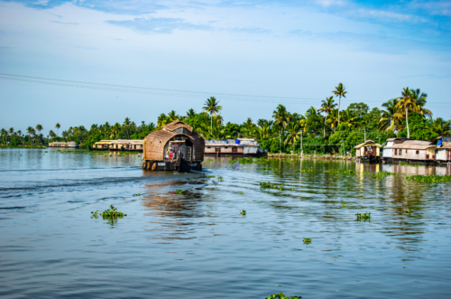 Houseboat on Alleppey backwaters